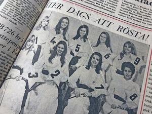 Den 22 november 1969 presenterades årets Luciakandidater.