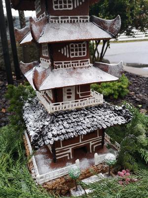 Pegodan är 70 centimeter hög. Foto: Privat