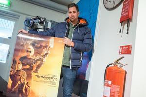 Niklas Ohlson, Happy Sveg, visar en av flera filmer som går på bion i Sveg, men också på andra biografer runt om i Härjedalen.