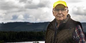 Olle Bergqvist kan prata om jakt i flera timmar.