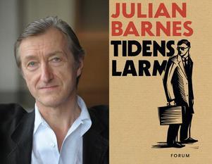"""Julian Barnes har bland annat varit biträdande kulturredaktör på The Times och New Statesman. Han debuterade som författare 1980. För """"Känslan av ett slut"""" fick han Man Booker Prize 2011."""
