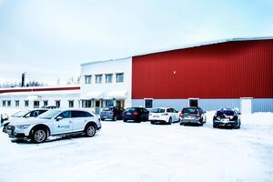 Lokalerna byggdes ursprungligen av Borgströms plåt.