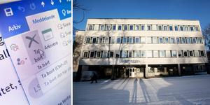 Under torsdagen framkom att vissa mejl till länsstyrelserna under en längre tid i stället hamnat hos ett lokalt annonsblad i Ånge kommun.