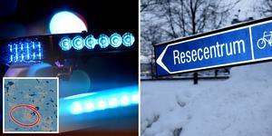 Två män utsattes för ett rånförsök vid Borlänge resecentrum