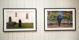 Linda Maria Thompson arbetar mycket med dokumentärfotografi, som finns rikt representerat på utställningen.
