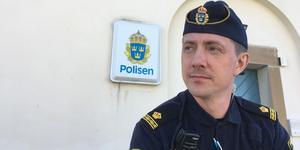 Områdespolis i Strömsund, Jonny Jonsson.