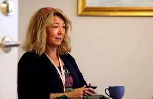 Monika Isberg är rektor på Minervaskolan och ansvarig för det beslut som nu har tagits om att förbjuda mobiltelefoner fram till sommarlovet.