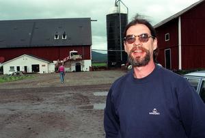 Thomas Larsson drev förr Holms säteri. Sveriges då största ekologiska jordbruk. Arkivfoto