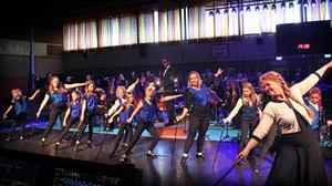 Steppdans med Kramfors musikalskola.