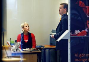 Maria Sondell var tillförordnad kontorschef vid rånet mot Swedbank vintern 2008. Bild: Arkiv