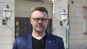 Fredrick Federley (C) från Björbo står på Centerpartiets första plats på EU-listan.