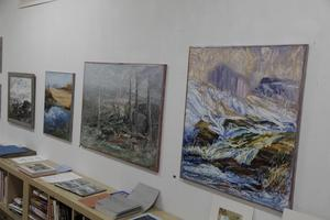 Några av Bengt Ellis verk.