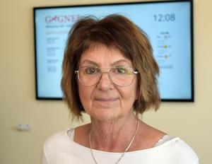 Irene Homman (S) fick under senaste fullmäktigesammanträdet applåder, men också ett