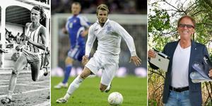 Jörgen Wiklander tillhörde Nordens bästa medeldistansare på juniorsidan. Efter att ha lagt löparskorna på hyllan uppfann han bland annat en fotbädd som gjorde att David Beckham kunde spela i VM 2002. Bild: Arkiv/TT/Privat