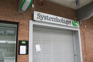 Systembolaget i Sandviken är stängt på grund av strömavbrott.