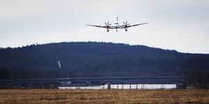Nu har trafikverkets kompensation på dryga 9 miljoner kronor fördelats mellan Sollefteå och Kramfors kommuner samt Höga Kusten Airport. Foto: Arkiv