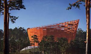 Lyra ska ersätta Svampen men bygget har försenats. Först 2021 räknar man med att den nya vattenreservoaren ska stå färdig. Illustration: Örebro kommun