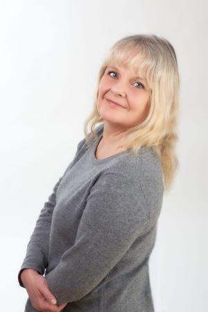 Maria Küchen har skrivit en bok om sitt stora intresse för rymden. Bild: Ulrik Fallström