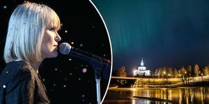 """Den 3:e december besöker CajsaStina Åkerström Själevads kyrka med sin julföreställning """"En jul i gemenskap""""."""