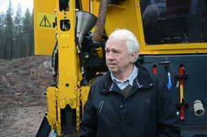 Efter många år i skogsmaskinsbranschen tycker Stig Linderholm att det är lite roligt att skapa något nytt.