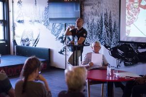 Jörgen Wahlberg, klubbchef, berättade under årsmötet om det ekonomiska resultatet.