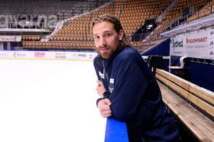 Andreas Thuresson är den svensk som har spelat flest matcher i AHL.