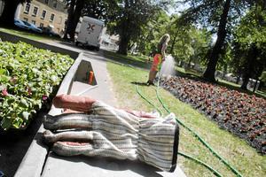 190 elever som går ut nian, ettan och tvåan på gymnasiet kan i år få ett feriejobb i Säters kommun. Det är drygt 50 mer än förra året.Foto: Jenny Knutsson/Arkiv