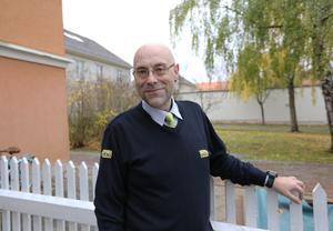 Jens Bergqvist jobbar idag som taxichaffis på Borlänge Taxi: