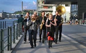 Spicy Advice Ragtime Band kommer till Söderhamn på söndag. Pressbild