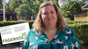 Lena Bylund, kommunikationsstrateg i Fagersta kommun.