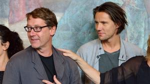Regissören Michael Thalheimer (till vänster) sätter upp Peer Gynt. Foto: Henrik Montgomery / SCANPIX