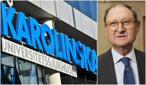 Håkan Sörman föreslås bli ny ordförande för Karolinska universitetssjukhuset. Mellan 1991-2003 var han Södertäljes stadsdirektör. Foto: TT