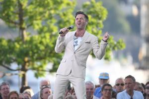 Peter Jöback är en av artisterna som uppträder den här sommaren på Allsång på Skansen. FOTO: TT.