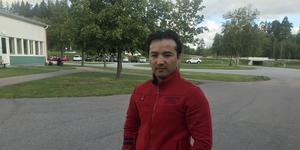Benjamin Ahmadi säger att det finns en reell risk för honom att bli hemlös.