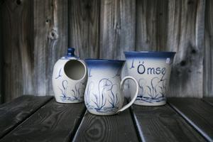 Nordic Kiwi är välkända för sina gräs och fågelmotiv på sin keramik.