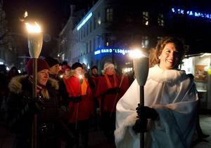 Kate Almroth på förra årets upplaga av den populära Lyslördagen.