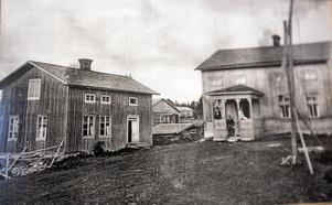 Så här såg det en gång ut på Nätterlunds gård. Huvudbyggnaden är i dag riven.