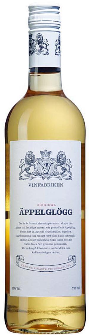 Vinfabrikens Äppelglögg.