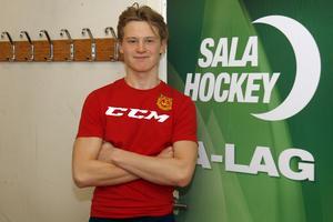 Felix Vannfält började spela ishockey i sjuårsåldern.