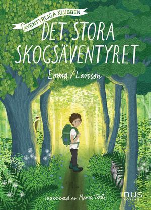 Emma V Larsson har skrivit boken som ges ut på Idus förlag. Illustrationerna står Maria Trolle för.