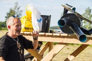 """""""Det här blir kanon, grabbarna från Texas får sjöutsikt"""", säger Paul Elgström om Sese Tupps nya uppställningsplats."""