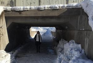 Tunneln under E16, i höjd med Bojsenburg, som DT rapporterat om flera gånger var åter fullt framkomlig under onsdagen.