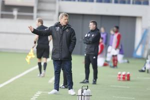 Johan Mjällby, tidigare VSK-tränare, här i Gefle IF.