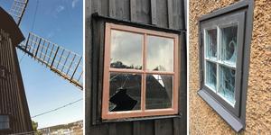 Glaskross och inbrott har drabbat Torekällberget senaste tiden. Nu samarbetar museet med säkerhetsavdelningen för att få stopp på förstörelsen.