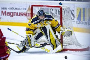 Alexander Sahlin lekte levande vägg mot Modo Hockey.