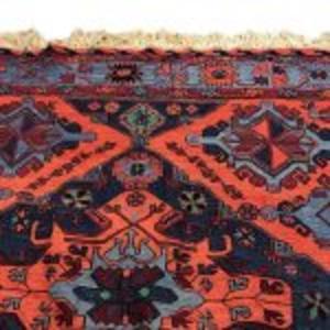 Kaukasiskt matta,  445 x 217 cm, 4 500  kronor. Bild: Sefina pantbank.