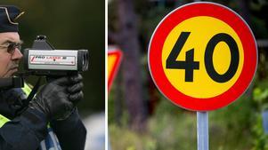 Ingen håller hastighetsbegränsningen på 40 på Räbbmogatan, menar signaturen BÅh. Bilder: Fredrik Sandberg/TT / Christine Olsson/TT