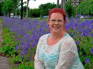 Jennie Ehnlund har sadlat om från djurvårdare till florist.