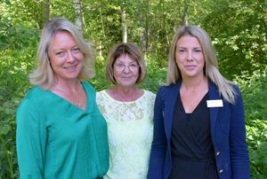 Katarina Hultqvist, Irene Homman och Amanda Allernäs konstaterar att det råder stor efterfrågan på bostäder i Djurås – och att Lilla Skogenområdet, idag en lövskog, ligger centralt.