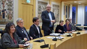 Nya landstingsrådet Ulf Berg (M) berättar att den nya politiska ledningen, Dalasamverkan, beslutat att rekrytera en ny regionchef under 2019.